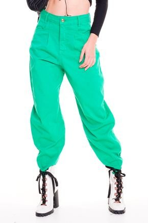 1calc a slouchy jeans verde